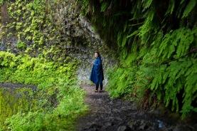 Eagle Creek Trail 440 Tunnel Falls