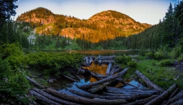 Hazel Lake Trail Sunrise