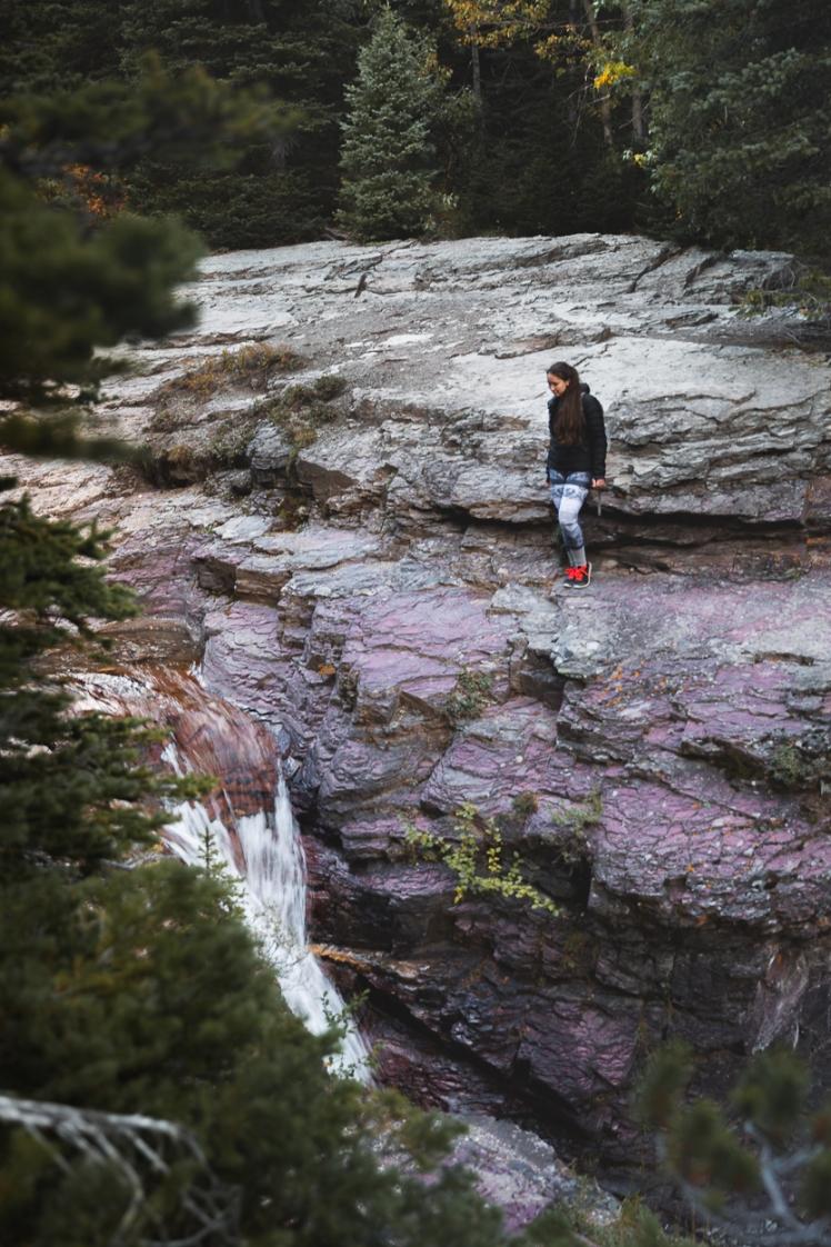 Ptarmigan Falls-Montana