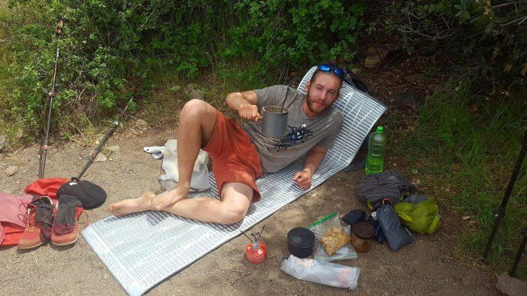 Julian, CA Camp Setup