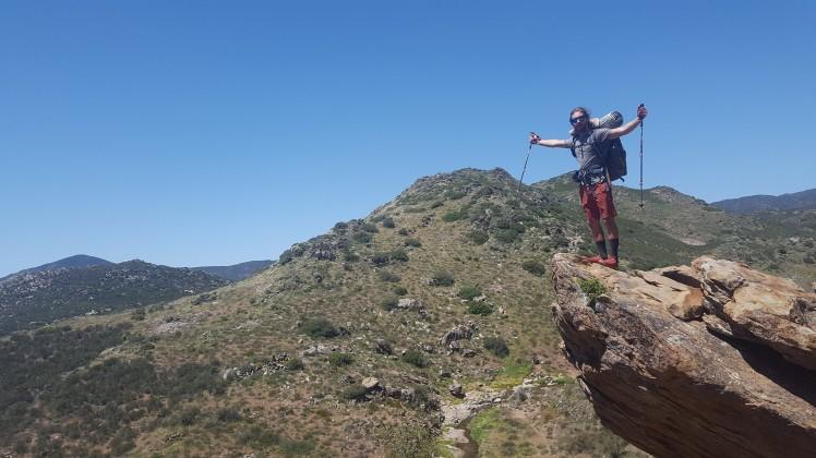 Julian, CA Cliff