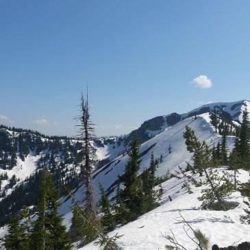 Stevens Peak in Idaho