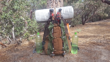 backpacking the pct