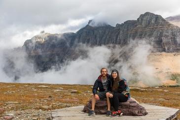 Hike to Hidden Lake in Logan Pass