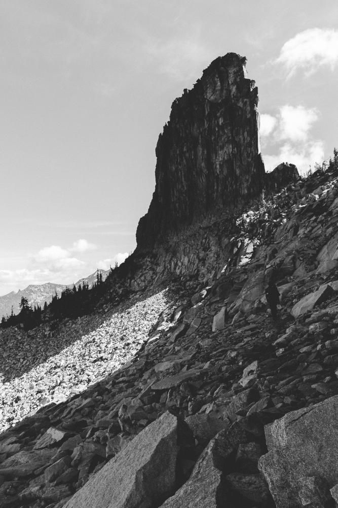 Chimney Rock in North Idaho