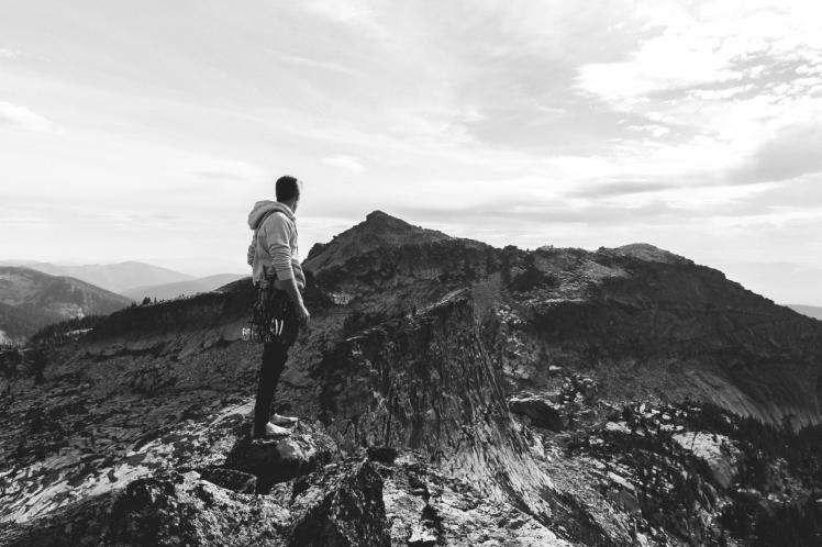 Rock Climbing Chimney Rock in North Idaho