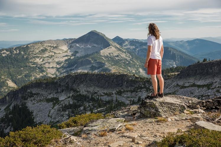 Priest Lake Rock Climbing