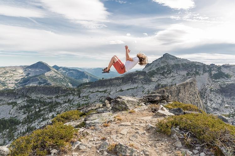 Vier of Harrison Peak in North Idaho