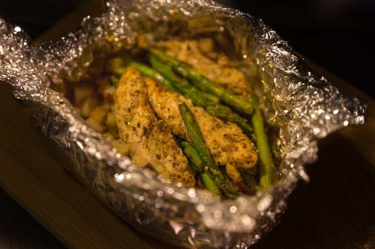Garlic & Herb Chicken with Asparagus