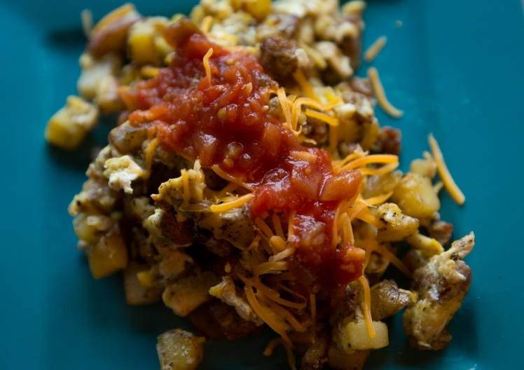 Camp Breakfast Scramble